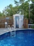 Idées de terrasse pour piscine hors terre – piscine hors sol
