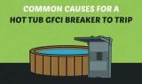 7 raisons pour lesquelles votre hot tub fait trébucher le disjoncteur