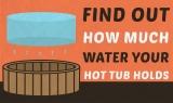 Combien de gallons d'eau dans un spa ?