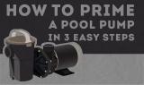Comment amorcer une pompe de piscine en 4 étapes faciles