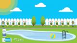 Comment réparer l'eau d'une piscine nuageuse