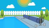 Le meilleur enrouleur de couverture solaire pour une piscine enterrée en 2020